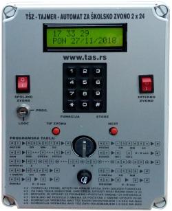Tajmer - automat za školsko zvono