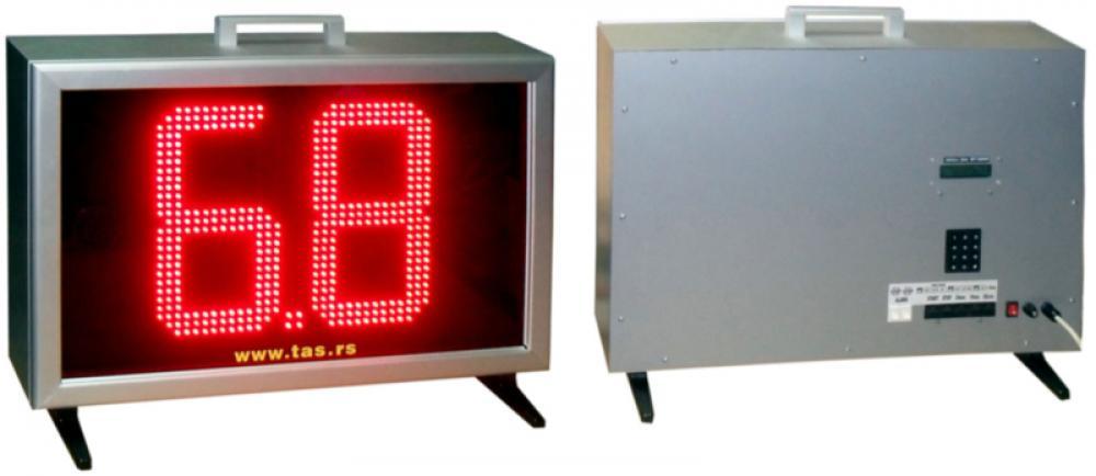 Košarkaški semafor za treninge napada za školske i sportske objekte