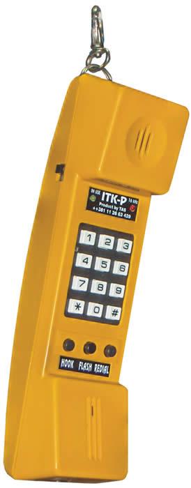 Ispitna telefonska kombinacija sa prijemnikom tarife 16 kHz