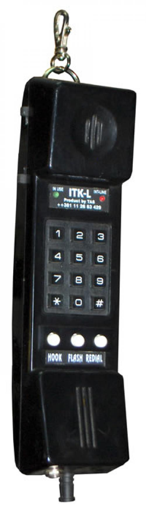 Ispitna telefonska kombinacija sa LINE-INT vezom