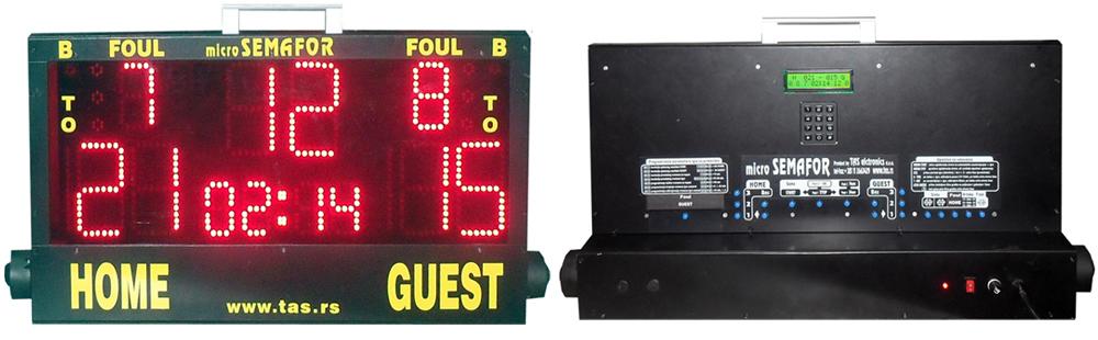 Prenosivi semafor za školske i sportske objekte